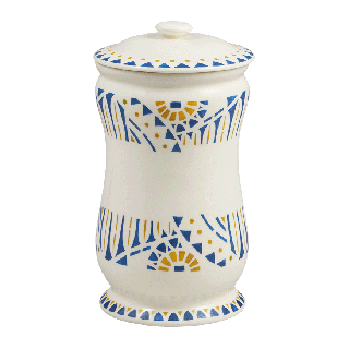 Grand pot à pharmacie - Mosaïk - Ø 12 cm. H 22,5 cm