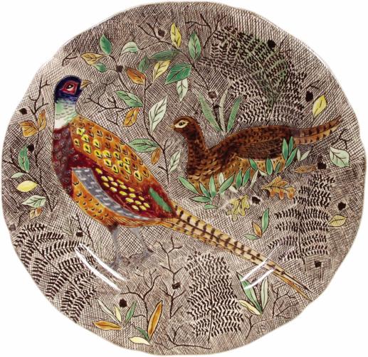 Dinner Plate - Pheasant