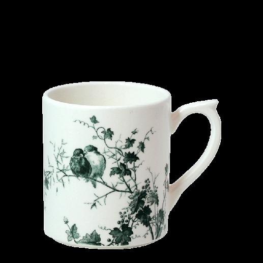 1 mug fond blanc Les Oiseaux - Faïencerie de Gien