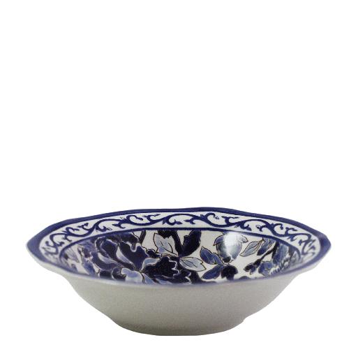 Cereal Bowl - Blue Pivoines