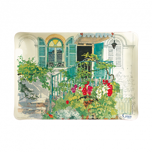 PETIT PLATEAU ACRYLIQUE - PARIS GIVERNY - 37 X 28,3 CM
