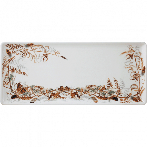 Oblong Serving Tray - Foliage