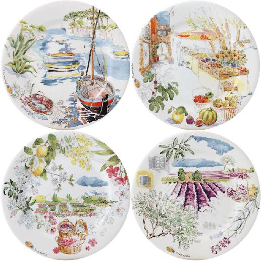 Assorted Dessert Plates