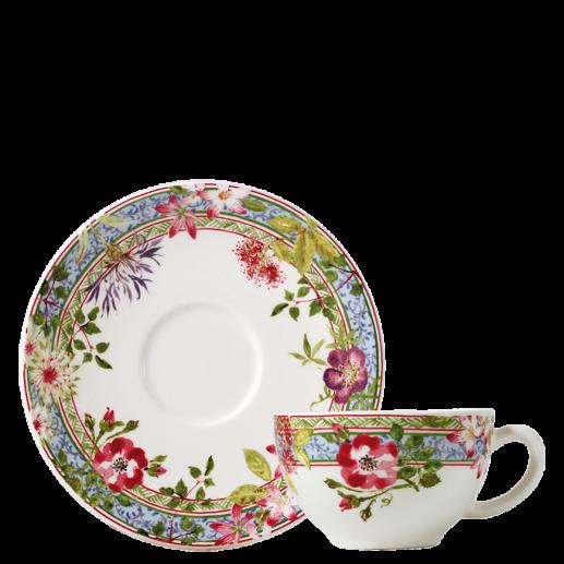 tasse et soucoupe à thé en Faïence